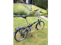 Dahon 7 speed folding bike [20 inch wheels]