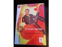 Graham Norton, Sarah Millican and Peter Kay DVDs
