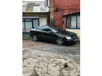 Hello I want sell swap mercedes clk 2.7 diesel avengarde coupe