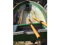 Fibre glass fishing boat