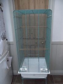 Hagen bird cage and stand,budgies,canaries,parakeets