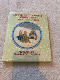 Vintage children's book Little Grey Rabbit