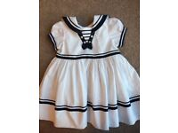 Sarah Louise Sailor dress age 12 months worn once