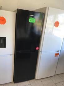 HOOVER HCN6182BK 50/50 Fridge Freezer - Black new graded