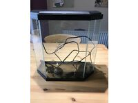 Nearly new fish tank for sale