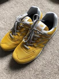 New Balance Men's Size 11 - Yellow (As New with Box)