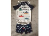 Baby Boy Swimwear (upto 18lb - 8kg)