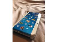 The New Nintendo 3ds with Pokemon cover plate