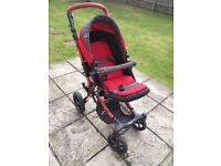 Jane Push Chair with Complimentary Car Seat and extended warranty
