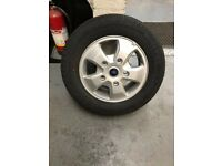 Transit 16 inch alloy wheels & tyres