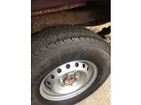 Ford Ranger 2016 255/70 R16 tyres for sale