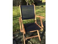 Garden table and chairs by kingdom teak