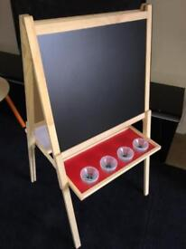 Kids 3-in-1 Activity Easel Black board etc