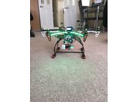 FINAL REDUCTION F550 Clone Hexacopter Drone with GPS, HD ActionCamera and HD Monitor