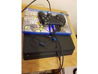 Sony Playstation 4 console plus Fifa 17 and Call of Duty