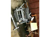 Metal/wood/chairs/scrap FOR FRE