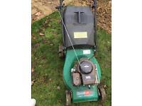 Petrol lawn mower spares or repair