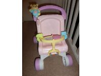 Fisher Price stroll along baby walker