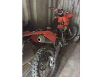 Ktm 250cc motocross bike
