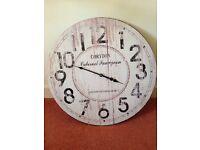 Large vintage style clock