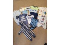 Baby boy newborn clothes 13 items