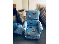 Pirate themed chair -