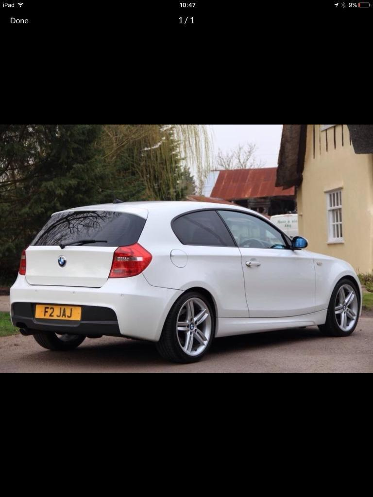2009 BMW 1 series parts breaking bcg