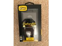 iPhone 7 plus/8 plus - Otterbox Defender case (Black) - Boxed/Unused