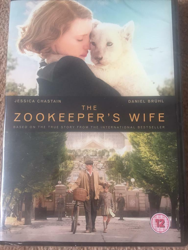 Brand New in Wrapper - The Zookeepers Wife DVD