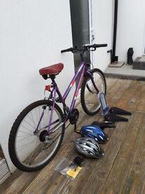 ladies bicycle as new