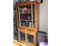 Cupboard/book case Sheesham solid wood