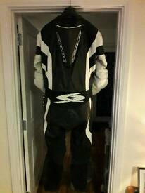 Spyke race suit. Size 54 Inc spine protector