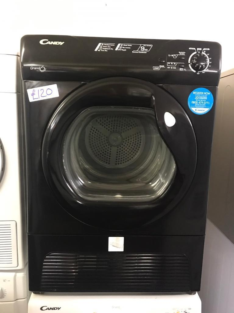HOOVER 8 KG CONDENSER DRYER IN BLACK WITH GUARANTEE