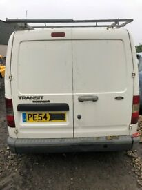 Breaking now!! 2004 Transit Connect 1.8 TDDI diamond white ALL PARTS AVAILABLE
