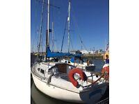 Sailing boat Sabre 27 yacht ipswich