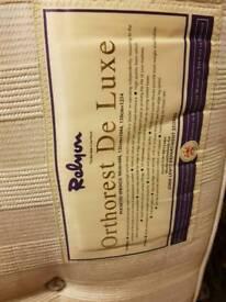 relyon orthorest deluxe kingsize mattress