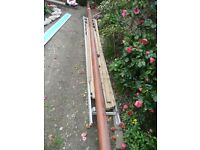 BOAT WOODEN MAST (birdsmouth construction)