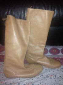 Zara ladies long boots size 6