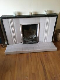 60s fireplace surround - original