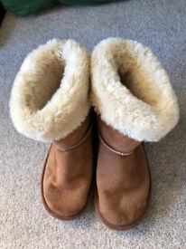 Tu Girls Boots Size 1
