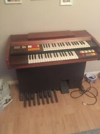 Organ for sale ... in good working condition! Comes with stool. Sad to see it go!