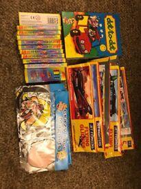 Various goody bag bits