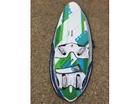 Windsurf Board: Fanatic Gecko HRS 112 (2014) - the ultimate free ride board.