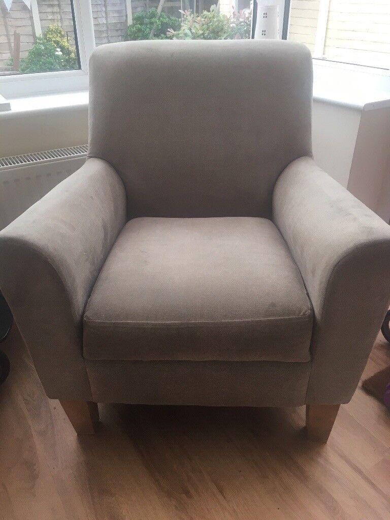 Next Armchair grey