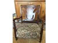 Vintage antique Edwardian child's chair