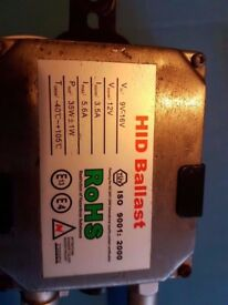 xenon kit ROHS 35W H1 and 4 bulbs