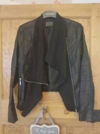 waterfall leather jacket