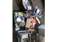 Job lot dvds &console games