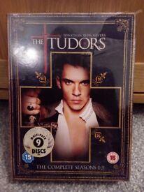 Brand New The Tudors Box Set Seasons 1-3