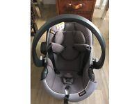 Be Safe iZi modular car seat group 0+ Metallic Mellange
